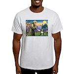 St. Francis & Beardie Light T-Shirt