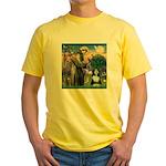 St. Francis & Beardie Yellow T-Shirt