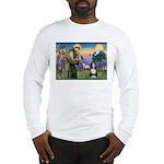 St. Francis & Beardie Long Sleeve T-Shirt