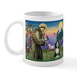 St. Francis & Beardie Mug