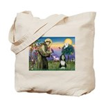 St. Francis & Beardie Tote Bag