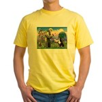 St Francis/Bernese Yellow T-Shirt