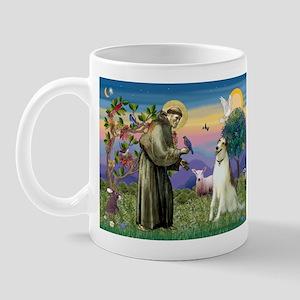 St Francis & Borzoi Mug