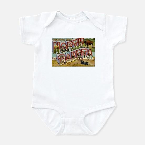 North Dakota ND Infant Bodysuit