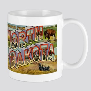 North Dakota ND Mug