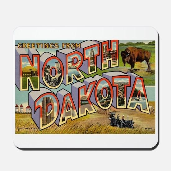 North Dakota ND Mousepad