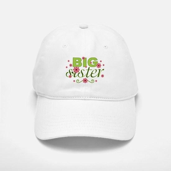 Big Sister Garden Flowers Baseball Baseball Cap