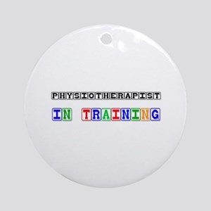 Physiotherapist In Training Ornament (Round)
