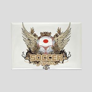 Soccer Japan Rectangle Magnet