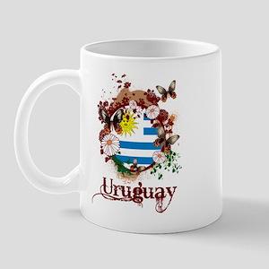 Butterfly Uruguay Mug