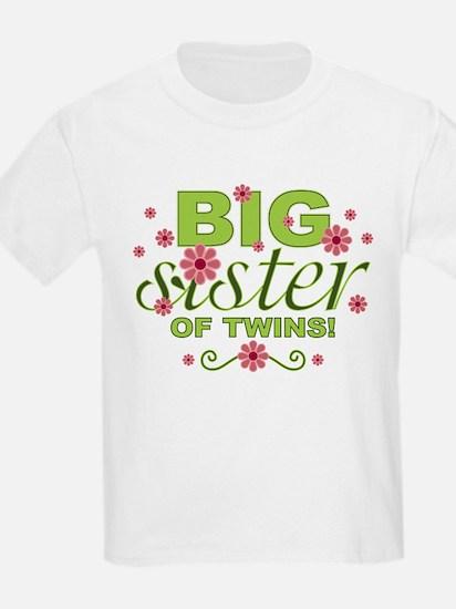 Big Sister of Twins T-Shirt