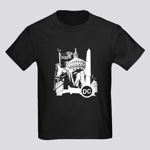 Washington DC Kids Dark T-Shirt
