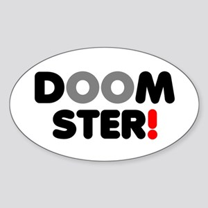 DOOMSTER! Sticker