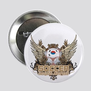 "Soccer South Korea 2.25"" Button"