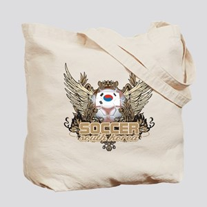Soccer South Korea Tote Bag