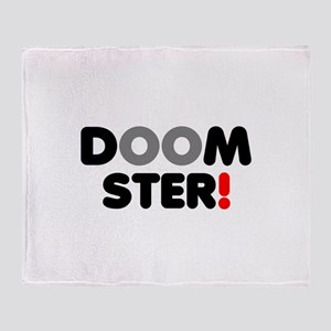 DOOMSTER! Throw Blanket