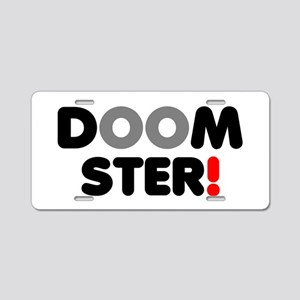 DOOMSTER! Aluminum License Plate