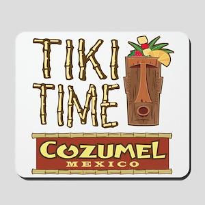 Cozumel Tiki Time - Mousepad