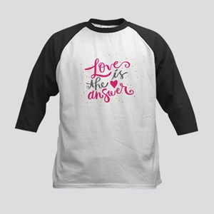 Loves is the answer Baseball Jersey