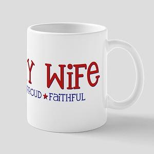 Strong, Proud, Faithful - Arm Mug