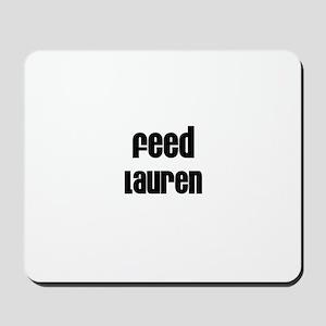Feed Lauren Mousepad
