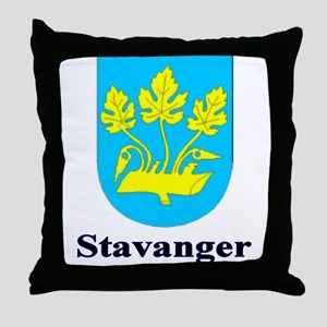 The Stavanager Store Throw Pillow