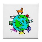 Animal Planet Rescue Tile Coaster
