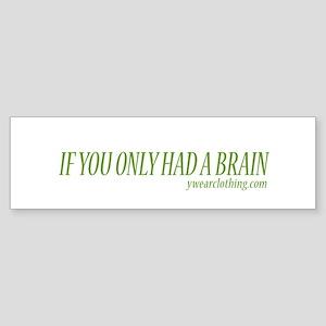 Brain II Bumper Sticker