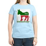 DHIMMIcratic Party Women's Pink T-Shirt