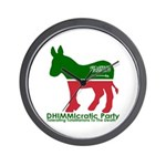 DHIMMIcratic Party Wall Clock