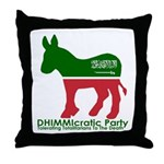 DHIMMIcratic Party Throw Pillow