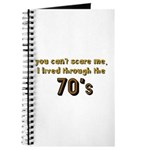 you can't scare me..70's Journal