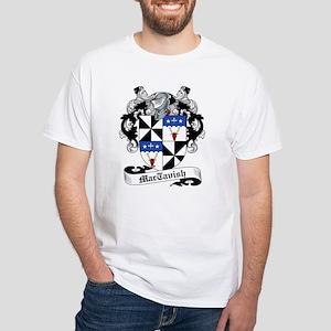 MacTavish Family Crest White T-Shirt