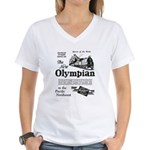 The Olympian 1929 Women's V-Neck T-Shirt