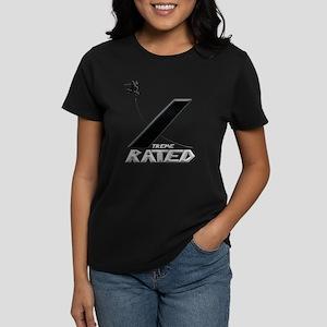 Xtreme Rated-Skater Girl Women's Dark T-Shirt