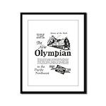 The Olympian 1929 Framed Panel Print