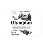 The Olympian 1929 Postcards (Package of 8)