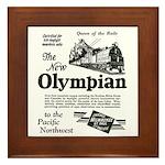 The Olympian 1929 Framed Tile