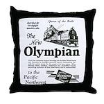 The Olympian 1929 Throw Pillow