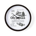 The Olympian 1929 Wall Clock
