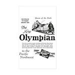 The Olympian 1929 Rectangle Sticker 10 pk)