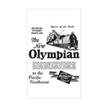 The Olympian 1929 Rectangle Sticker