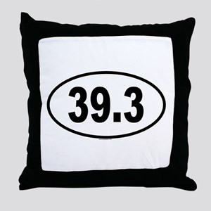 39.3 Throw Pillow