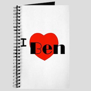 I Love Ben Journal