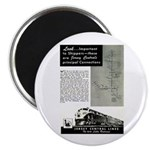 Jersey Central Lines Magnet