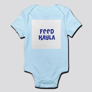 Feed Kayla Infant Creeper