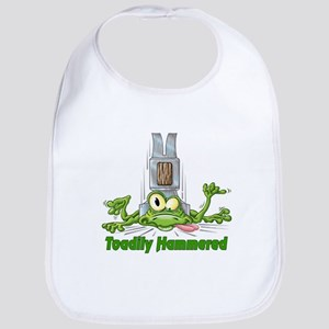 Toadily Hammered Bib