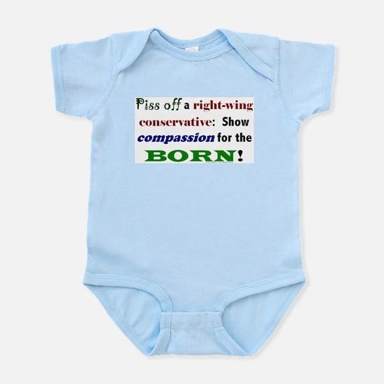 Compassion for the Born! Infant Creeper
