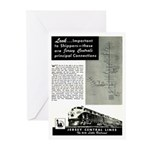 Jersey Central Lines Greeting Cards (Pk of 10)