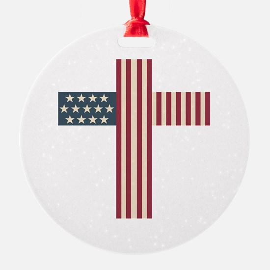 American Christian Ornament